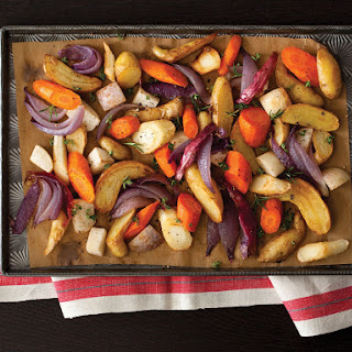 Roasted Winter Root Vegetables.