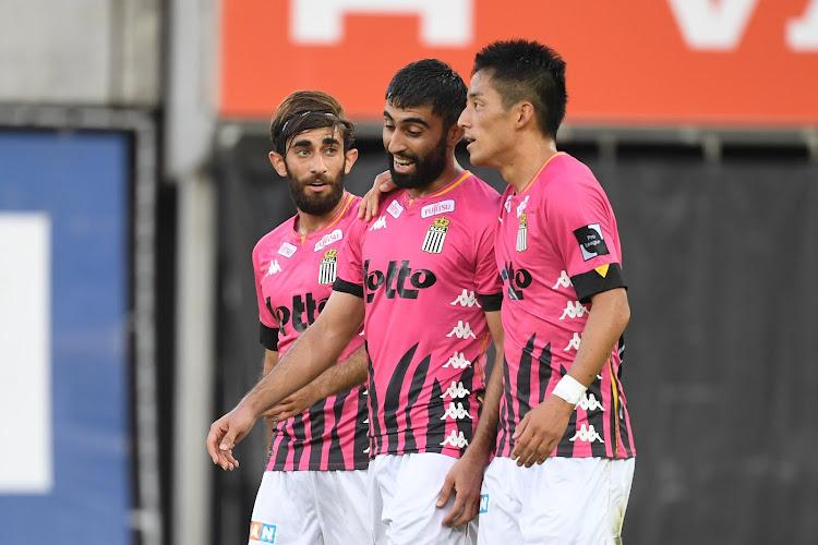 """""""On n'a pas fait un super match, mais..."""": Charleroi garde le sourire"""