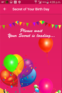 Secret of Your Birth Day - náhled