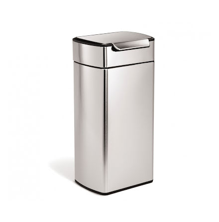 Soptunna med Touchbar Rektangulär Simplehuman CW2015  30 liter