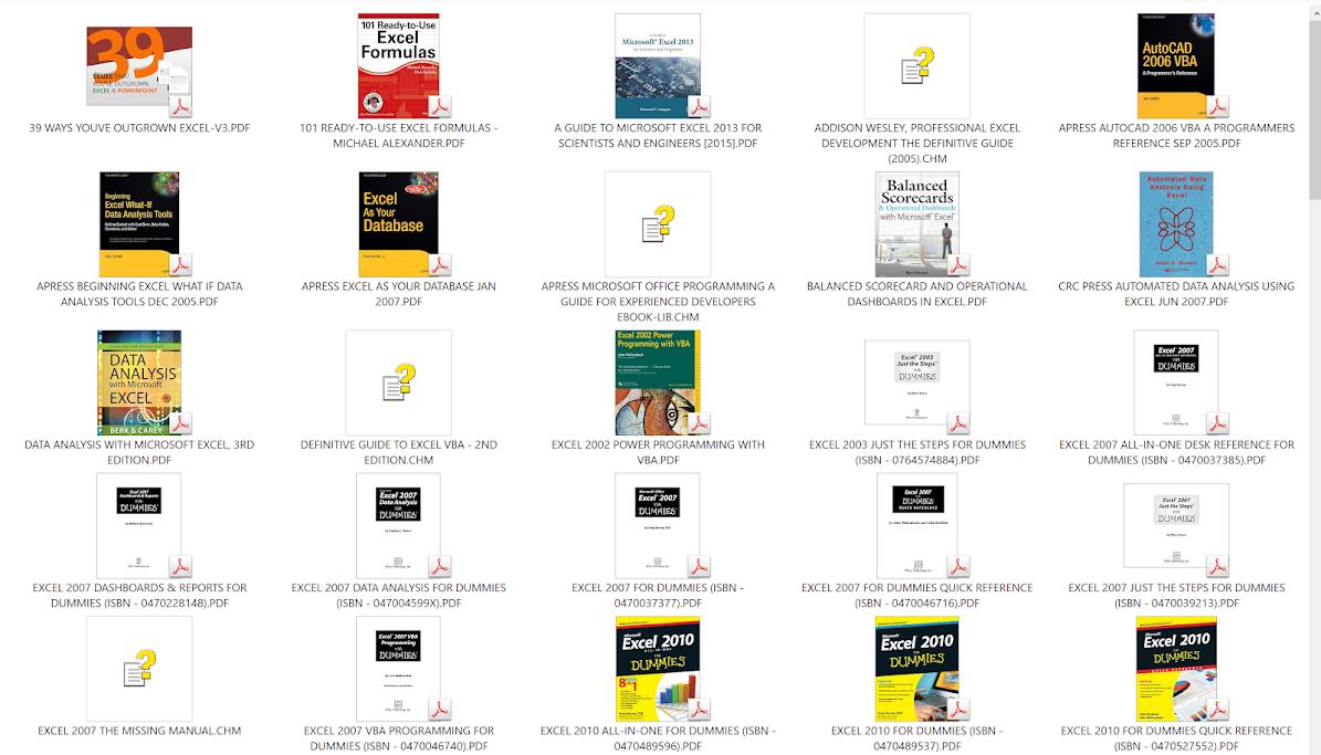 Share hơn trăm đầu sách về VBA + Excel + Access | Giải Pháp