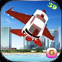 Flying Car Free Futuristic F16 icon