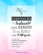 Photo: Invitación para despedida de solter@ - de el y ella