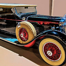 Classic in museum by David Winchester - Transportation Automobiles