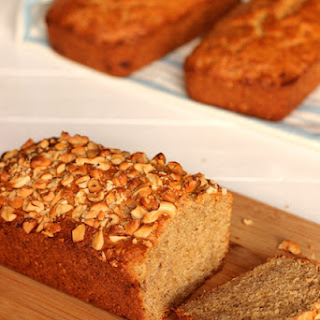 Coconut Cashew Banana Bread Recipe