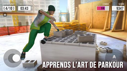 Parkour Simulator 3D - Trucs Extrêmes  captures d'écran 2