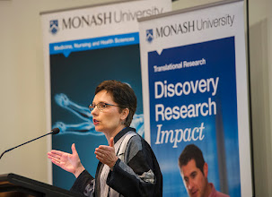 Photo: Dr Jane Muir, Head of Translational Nutrition in the Department of Gastroenterology at Central Clinical School, on the FODMAP app development. http://www.med.monash.edu.au/cecs/events/2015-tr-symposium.html