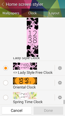 Lady Style Free Clock Gear Fit - screenshot