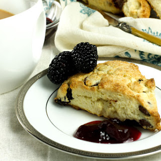 Cherry and Chocolate Chip Scones #Creative Cookie Exchange.