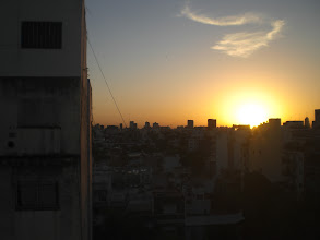 Photo: I heard the Jose Luis Borges wrote about the Buenos Aires sky. I think this is why.