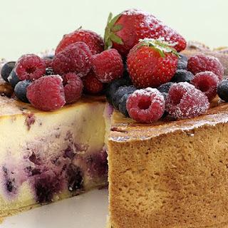 Berry Ripple Cheesecake