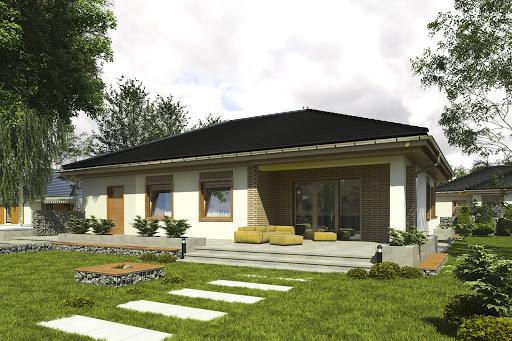 projekt Jerzyk II z garażem 1-st. A