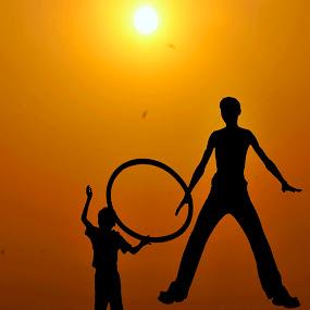 Playing by Suman Rakshit - Babies & Children Children Candids