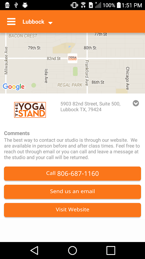 The Yoga Stand- screenshot