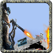 Commando War helicopter 3D