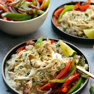 Slow Cooker Coconut Curry Shredded Chicken.