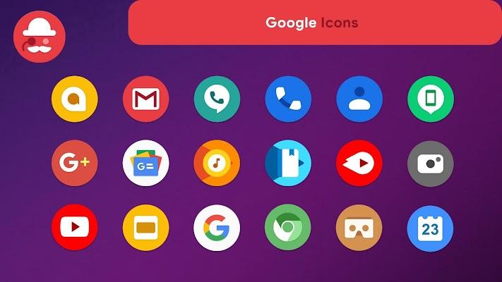 OneUI Pixel - S10 Icon Pack Screenshot Image