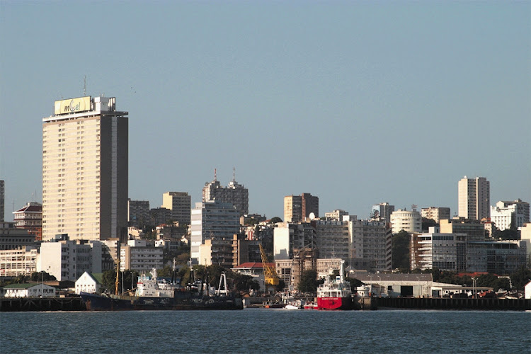 Maputo, the Mozambican capital. Picture: JEREMY GLYN