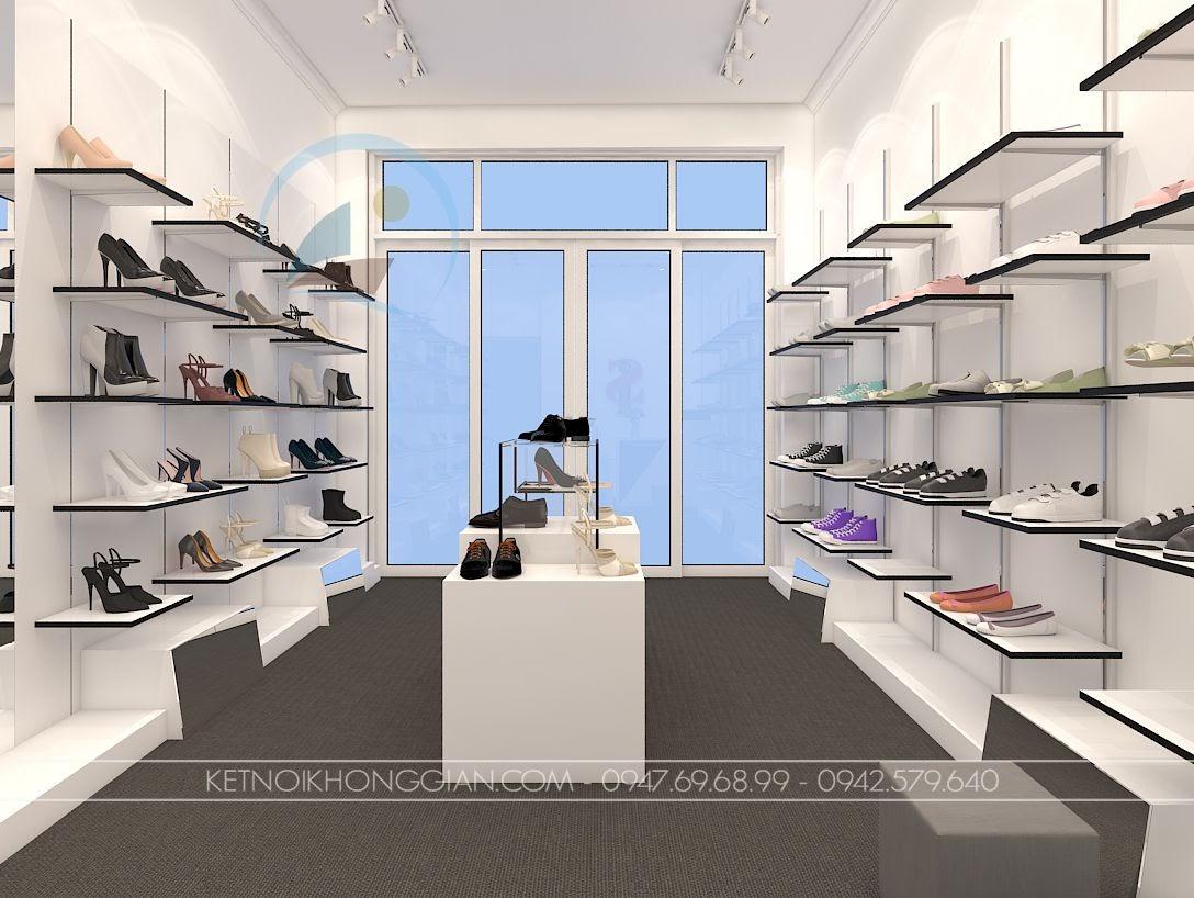 thiết kế shop giày dép Hà Nội