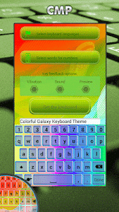 Keyboard Themes Galaxy 2017 screenshot 5