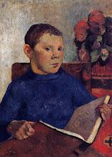 """Photo: Paul Gauguin, """"Clovis"""" (1886)"""