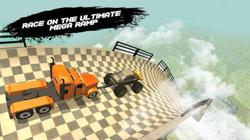 Double Impossible Mega Ramp 3D - Car Jump & Drift  screenshots 12