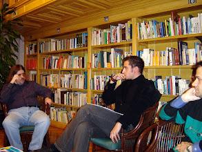 Photo: Interjú Lázár Bence András költővel.