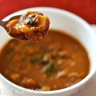 Slow Cooker Vegetable Lentil Stew.