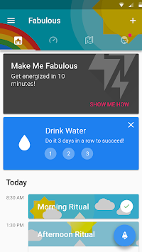 Fabulous - Мотивувати Me! APK screenshot thumbnail 6