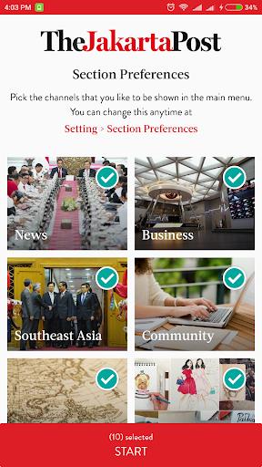 The Jakarta Post 1.0.5 screenshots 2