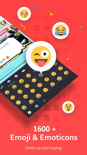 GO Keyboard - Emoji, Sticker screenshot 1