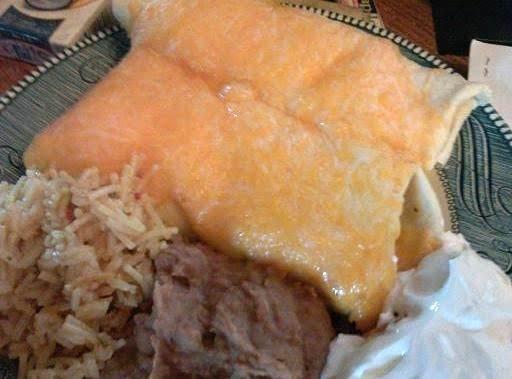 Crock Pot Shredded Beef Wet Burrito