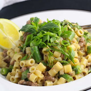 Lamb & Risotto-Style Ditalini Pasta + a Blue Apron Review Recipe