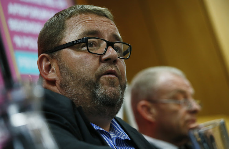 AfriForum CEO Kallie Kriel. File photo.