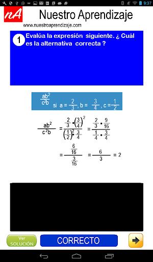 Evaluar  Expresiones 1.0.0 screenshots 12