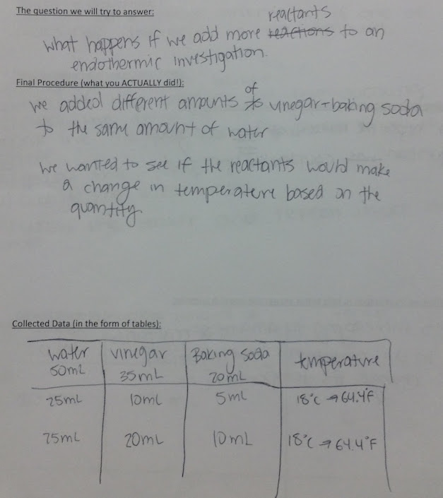 Ninth grade Lesson Day 3 of 3--Student Inquiry Regarding