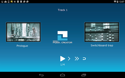 TMPGEnc PGMX PLAYER forAndroid screenshot 1