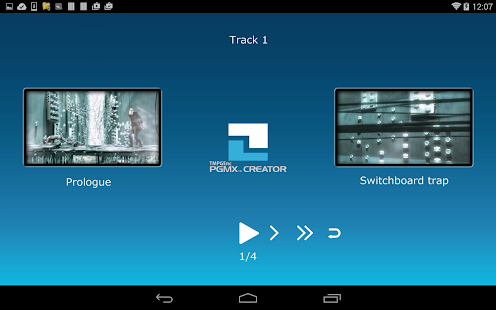 TMPGEnc PGMX PLAYER forAndroid- screenshot thumbnail