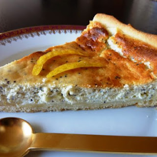 Poppyseed & Cheese Tart