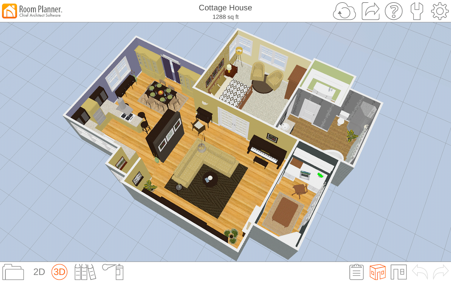 Room planner home design android apps on google play for House layout app