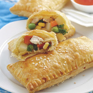 Chicken and Veggie Turnovers