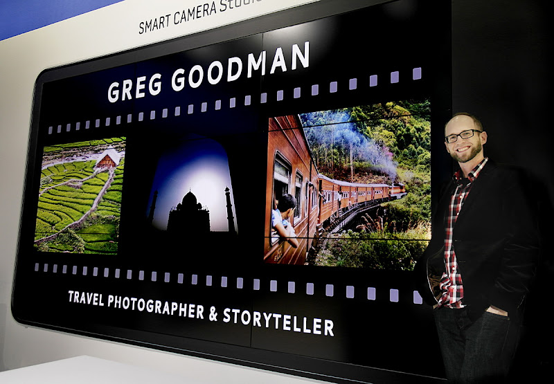 Photo: In front of my presentation at Photokina 2012