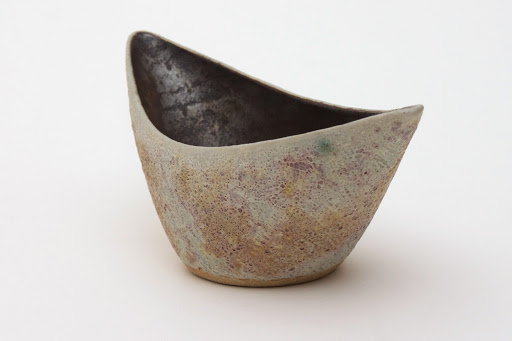 Chris Carter Boat Shaped Ceramic Bowl 07