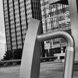 Philly Iron by Byran Forbes - Black & White Buildings & Architecture ( city hall, monopoly, philadelphia, iron )
