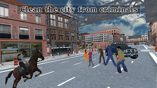 Police Horse Quest: Criminal Chase Crime City- screenshot thumbnail
