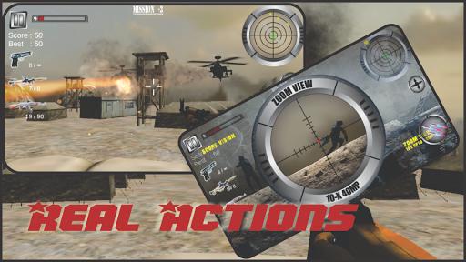 Modern Commando Sniper:shooter
