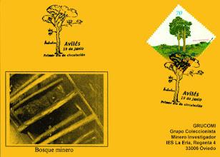 Photo: Tarjeta del matasellos de Primer Día Arboles Aviles 2000