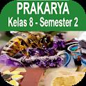 Buku Prakarya Kelas 8 Semester 2 Kurikulum 2013 icon