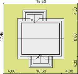 Domek Ciepły 012 ET 50 - Sytuacja