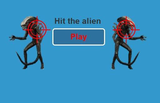 Hit the alien